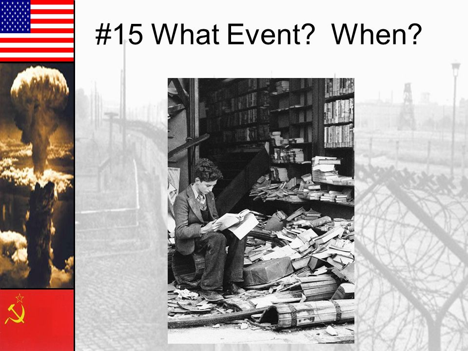 #15 What Event? When?