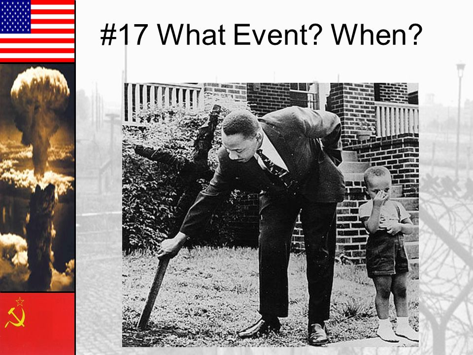 #17 What Event? When?