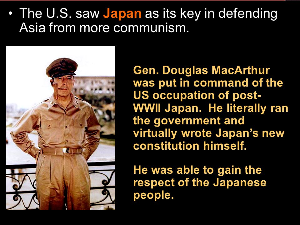 Section 2-18 1949 - Communists set up the People's Republic of China. China's Nationalist leaders fled to Formosa (Taiwan) and set up a government the