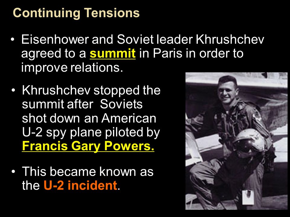 Section 4-20 After Stalin died, Nikita Khrushchev became the new leader of the Soviet Union in 1956.