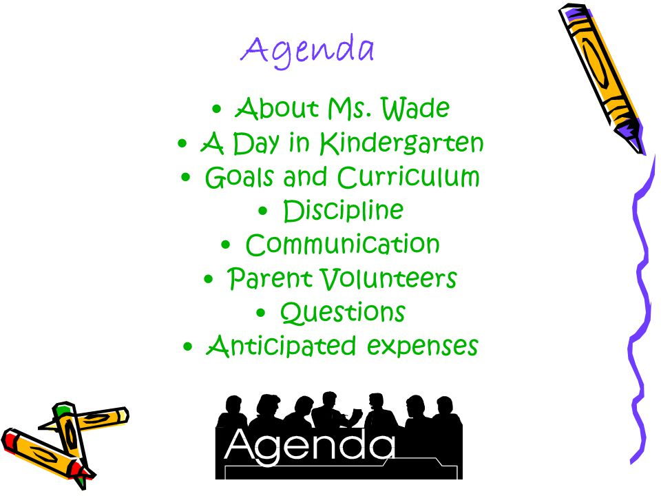 Agenda About Ms.