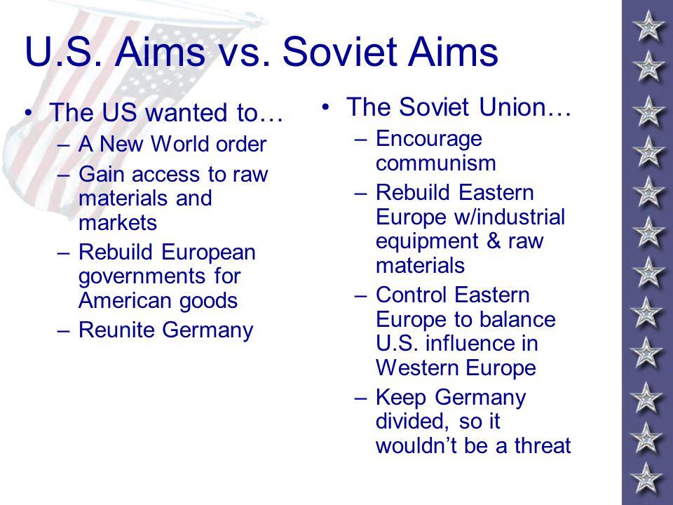 U.S.Aims vs.