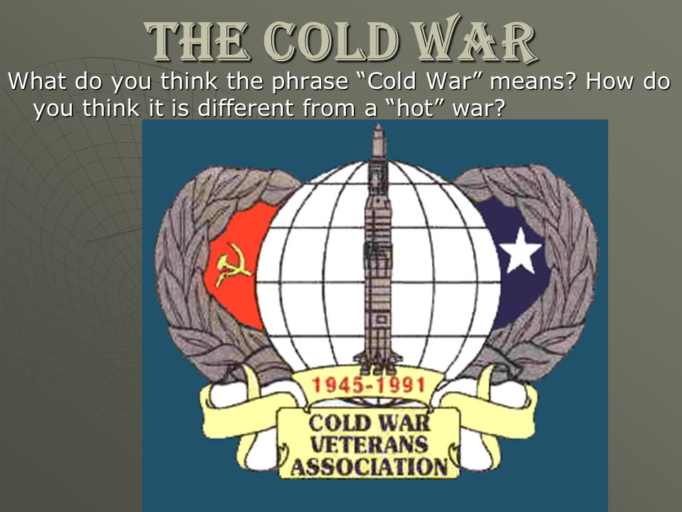 Cold War AIM: How did Cold War tensions feed fears of communism at home.