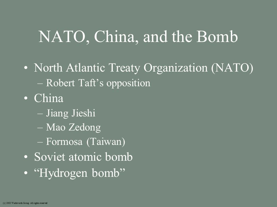 NSC-68 National Security Council document 68 (NSC-68) –Paul Nitze –A blueprint for both the rhetoric and strategy of future cold war foreign policy –Global ideological clash between U.S.