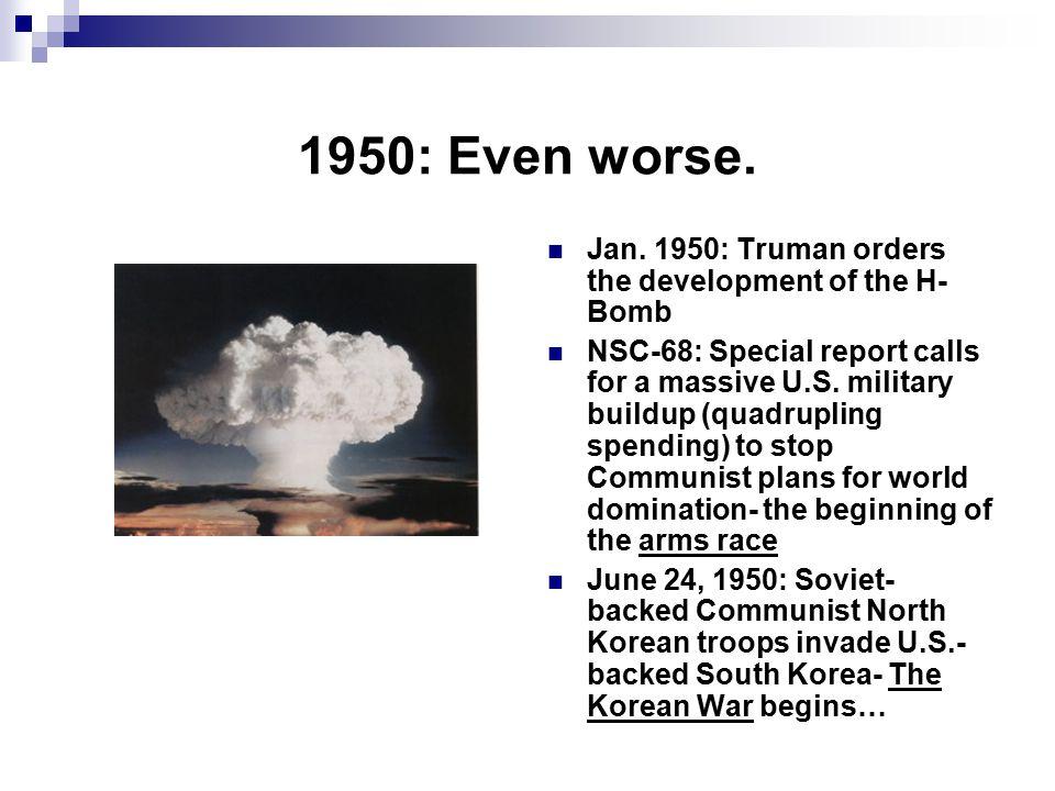 1950: Even worse.Jan.