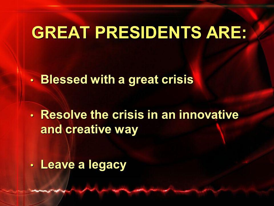 THE BEST & WORST THE BEST THE WORST 1. Franklin D. Roosevelt 2. Abraham Lincoln 3. George Washington 4. Thomas Jefferson 5. Theodore Roosevelt 6. Wood