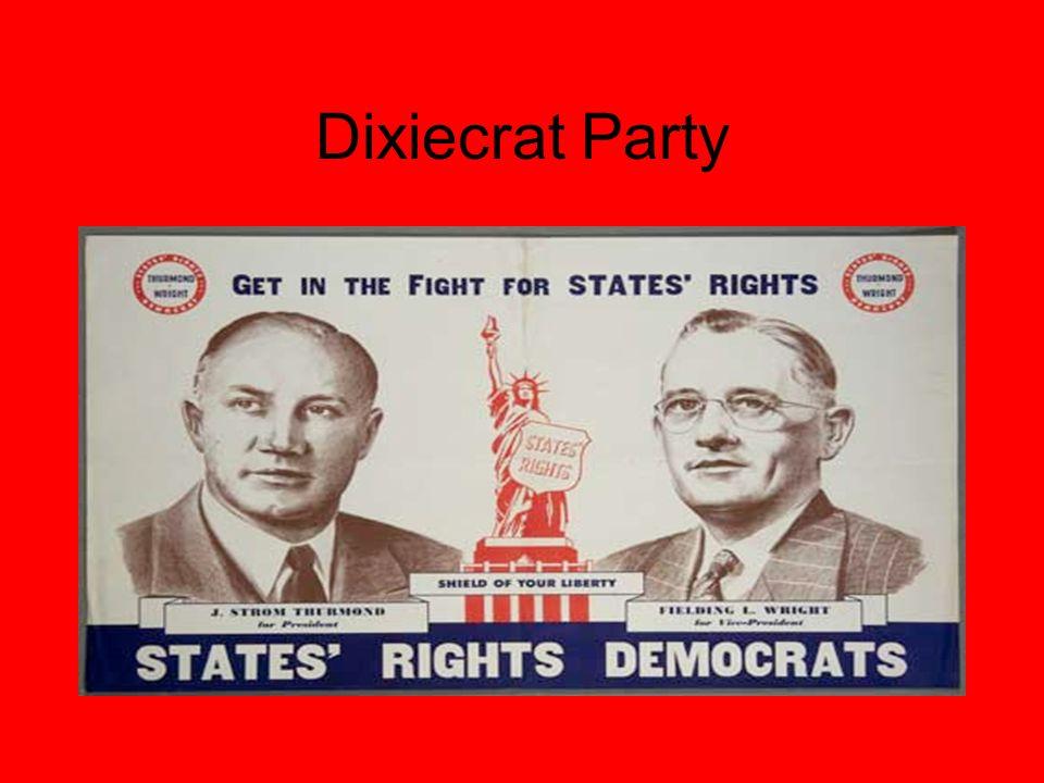 Dixiecrat Party
