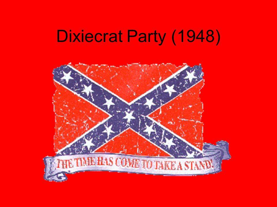 Dixiecrat Party (1948)