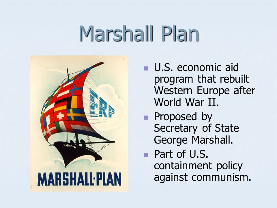 George C. Marshall U.S. Army general who helped develop US plans to win World War II.