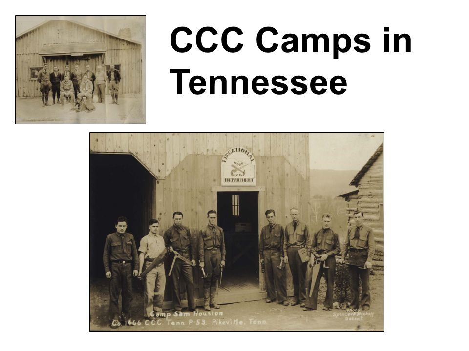 CCC Camps in Tennessee