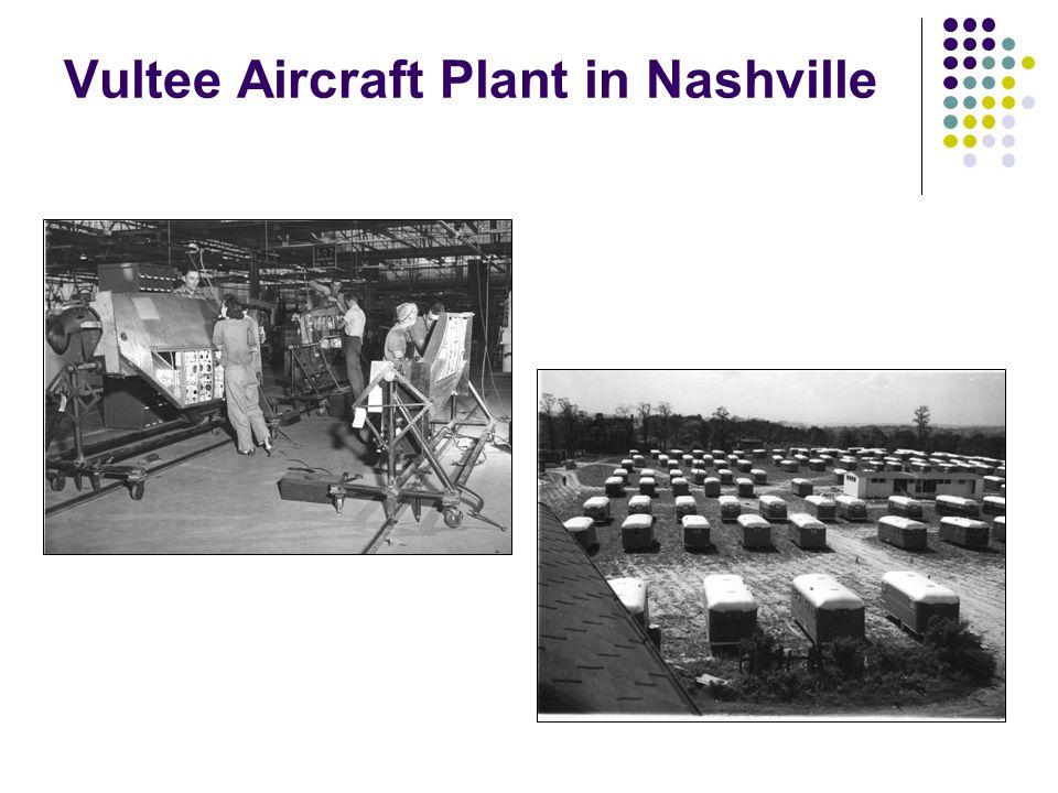 Vultee Aircraft Plant in Nashville