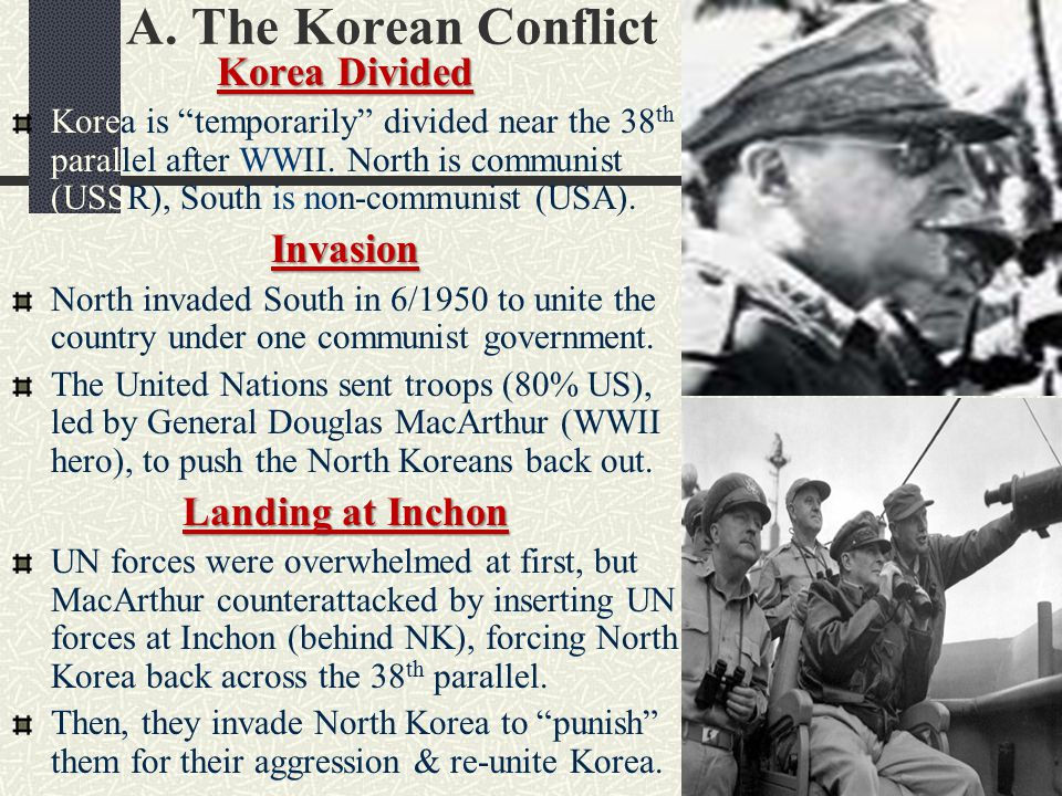 Korean War 1950-1953 Kim Il-Sung Syngman Rhee China Enters the War As UN forces pushed North Korea closer to the Chinese border, Chinese troops crossed the Yalu River into North Korea to help their fellow Communists.