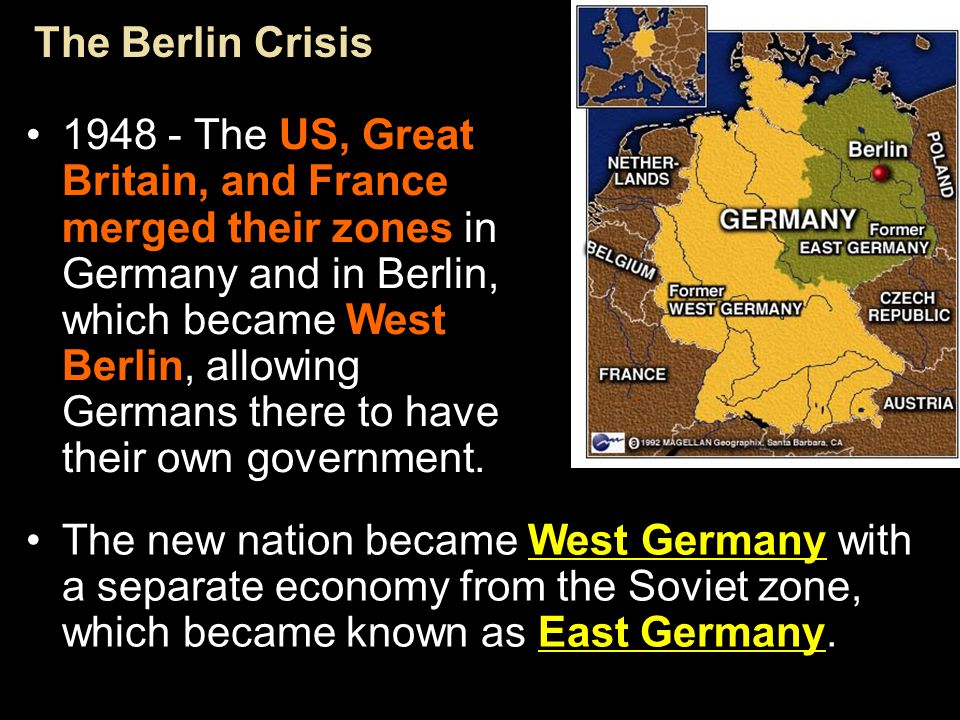 Postwar Western Europe faced economic ruin and starving people. In June 1947, Secretary of State George C. Marshall proposed the European Recovery Pro