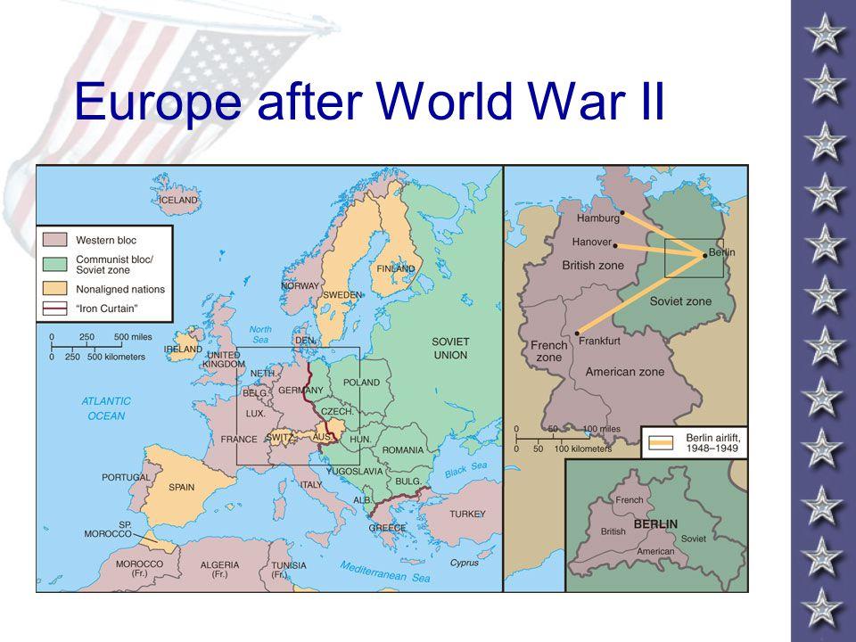 Europe after World War II