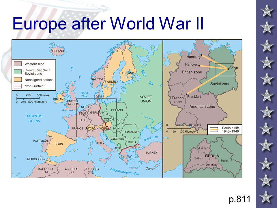 Europe after World War II p.811