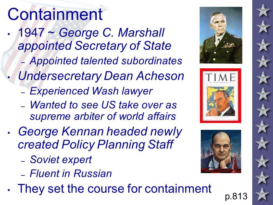 Containment 1947 ~ George C.