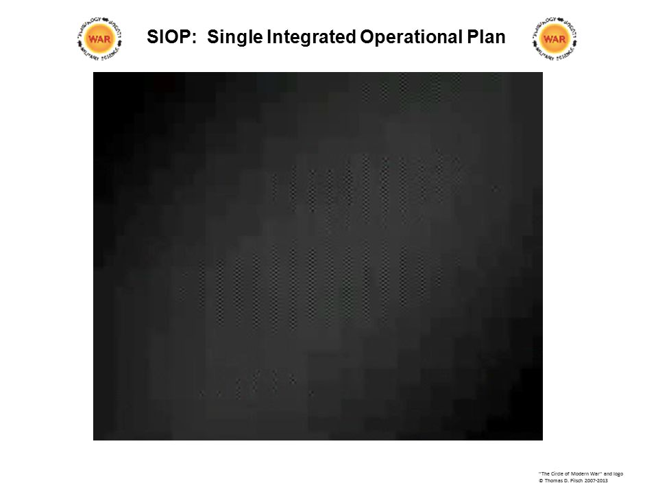 SIOP: Single Integrated Operational Plan The Circle of Modern War and logo © Thomas D.