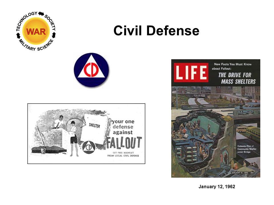 Civil Defense January 12, 1962