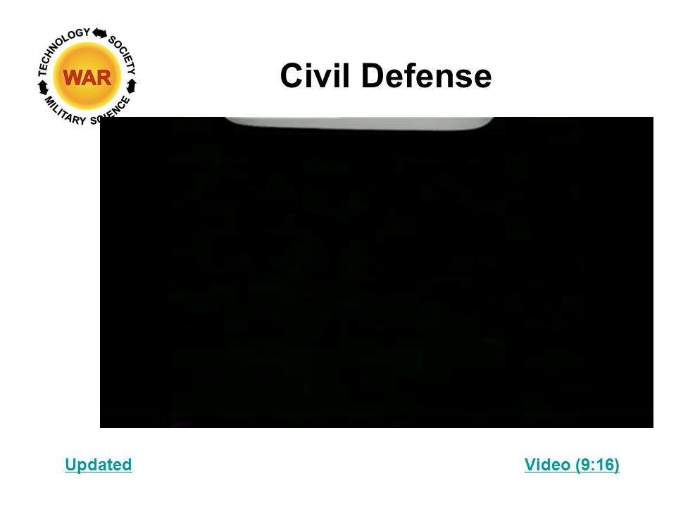 Civil Defense Video (9:16)Updated