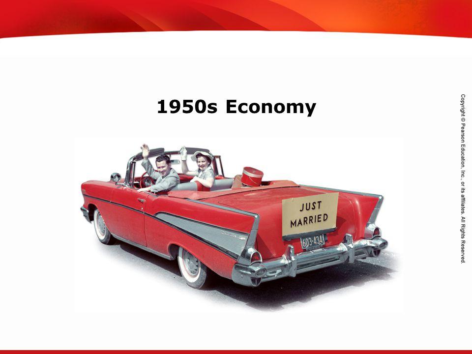 TEKS 8C: Calculate percent composition and empirical and molecular formulas. 1950s Economy
