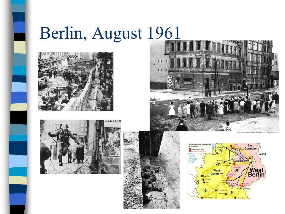 Berlin, August 1961