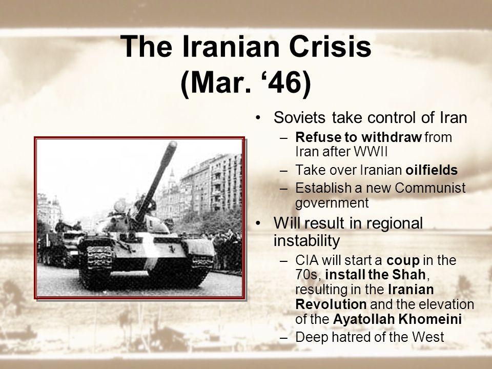 The Iranian Crisis (Mar.