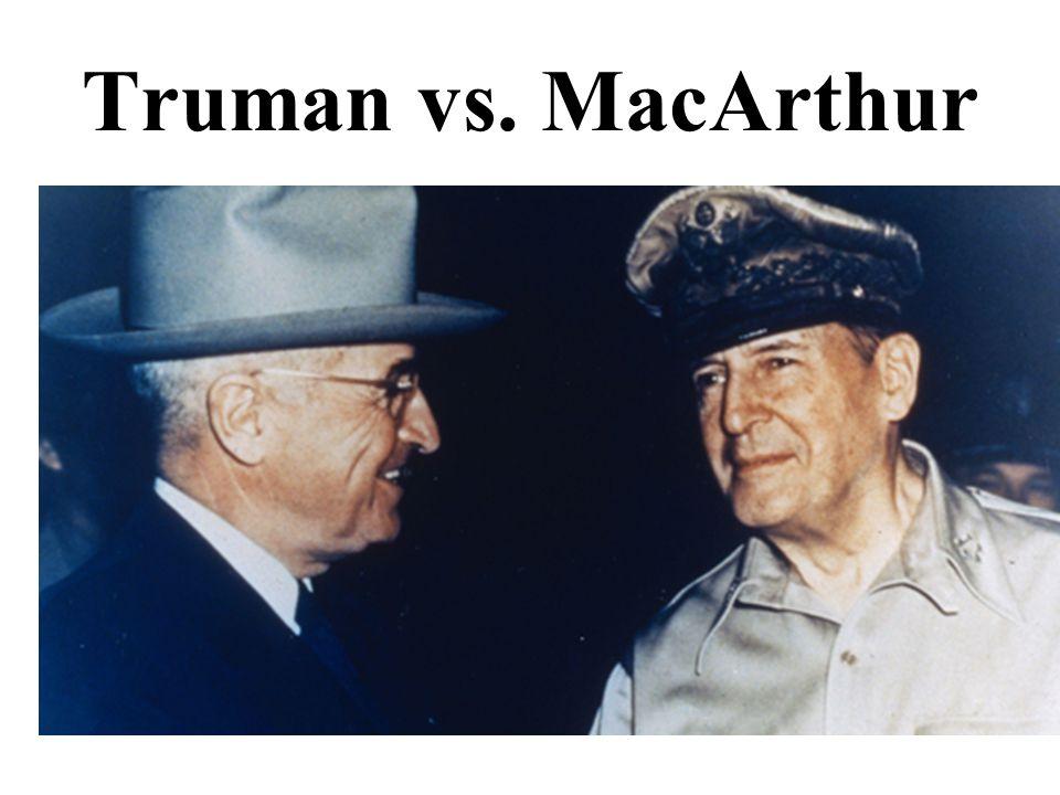 Truman vs. MacArthur