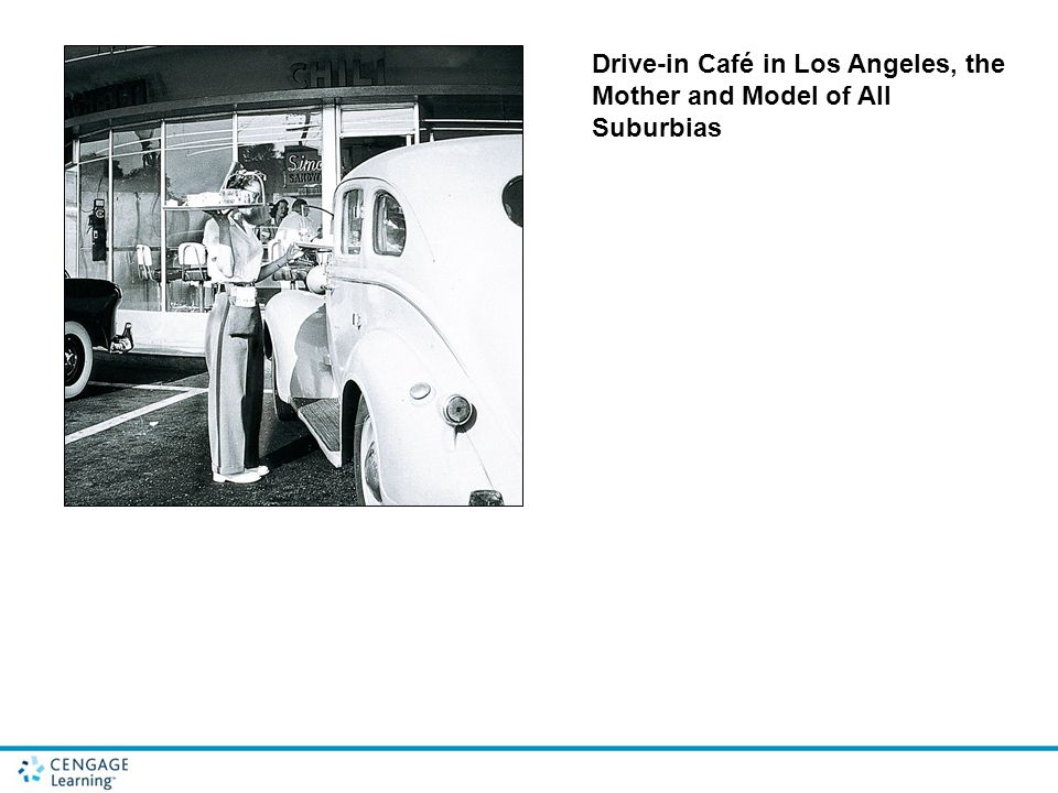 Drive-in Café in Los Angeles, the Mother and Model of All Suburbias