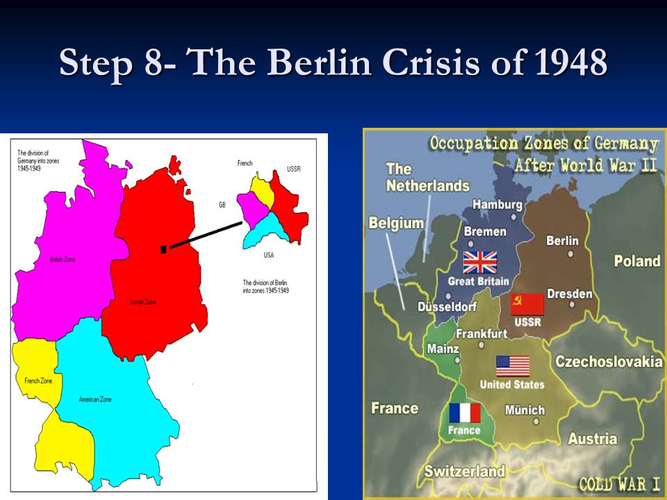 Step 8- The Berlin Crisis of 1948