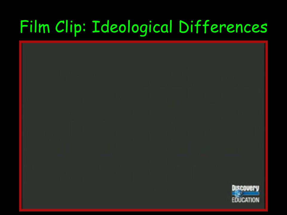 Film Clip: Ideological Differences