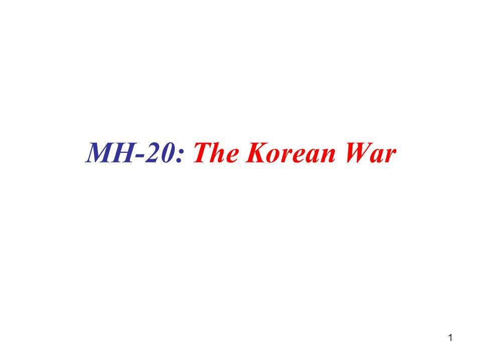 1 MH-20: The Korean War