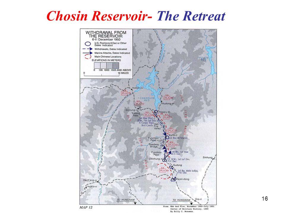 Chosin Reservoir- The Retreat 16