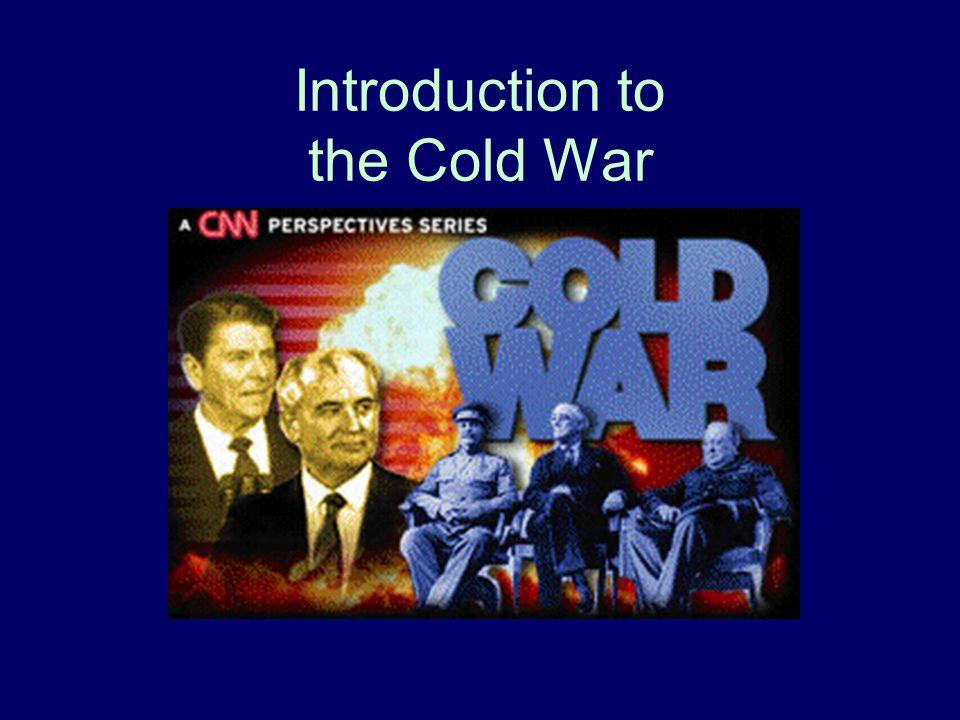 What is the Cold War.