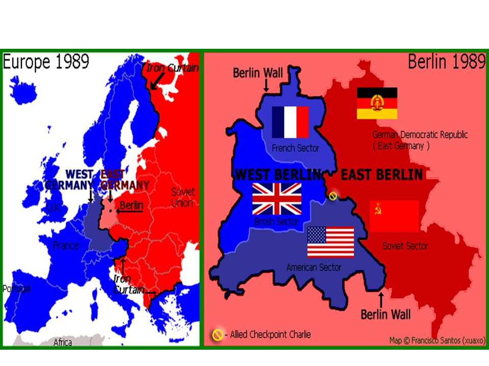 Berlin Airlift US flies food & supplies into Berlin for a year! USSR gives up!