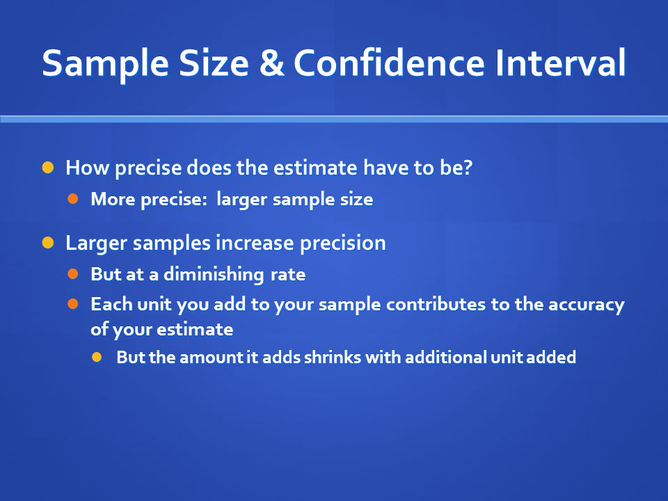 Sampling. - ppt download
