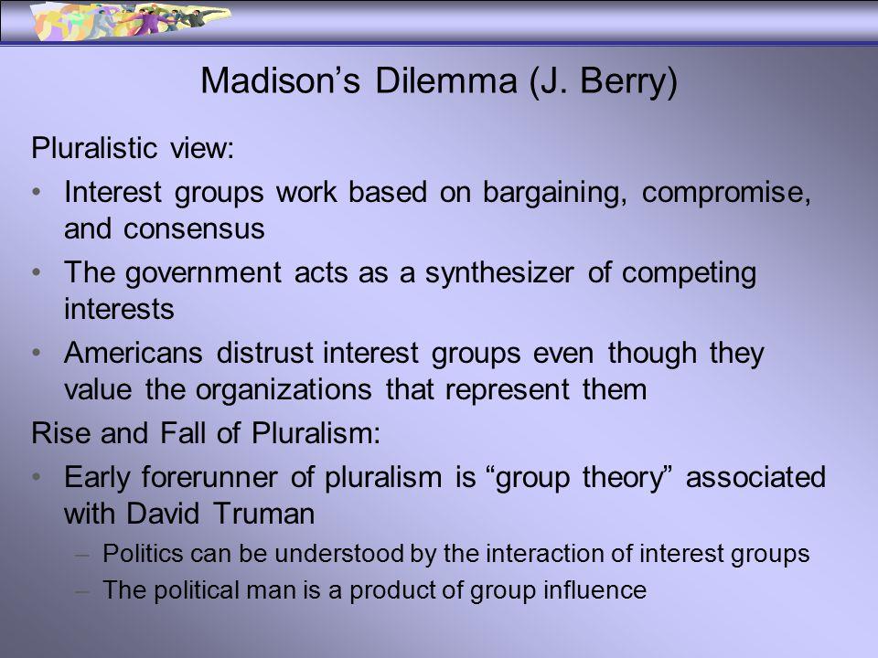 Madison's Dilemma (J.