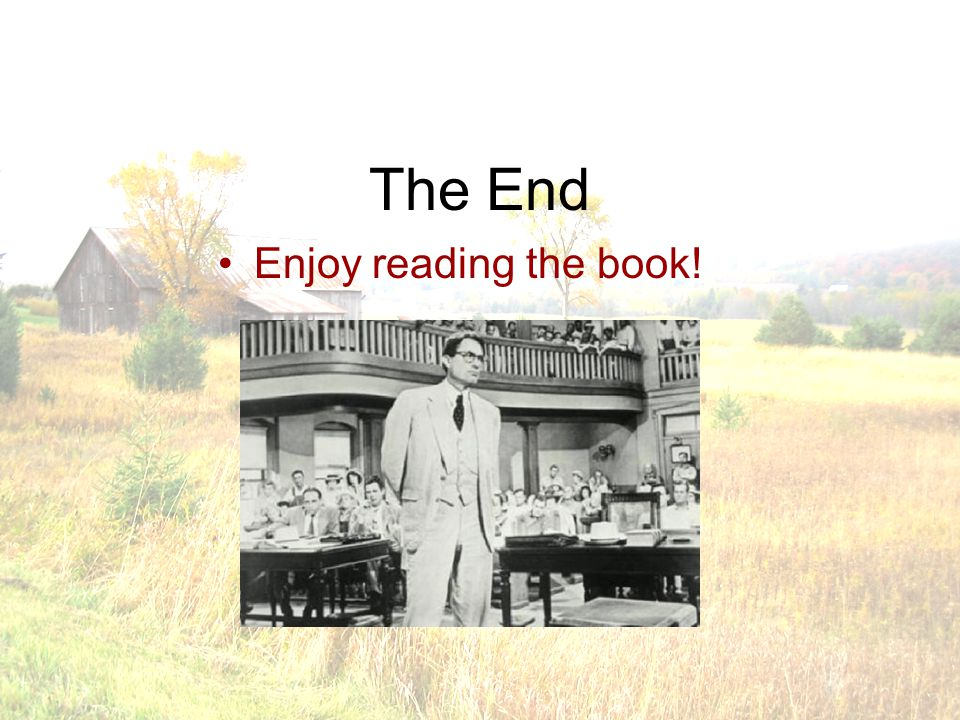 The End Enjoy reading the book!
