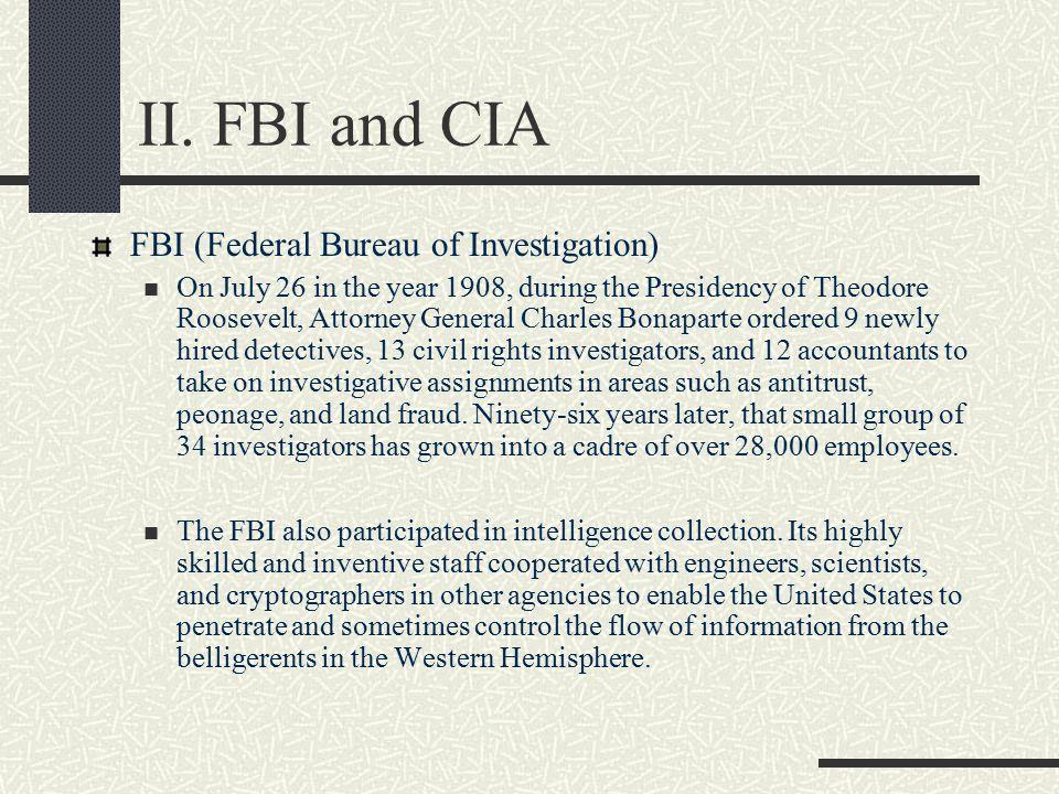 I. Espionage and related terms 1. spy 2. espionage 3. international spy 4. double agent 5. secret agent 6. secret service 7. special agent 8. intellig