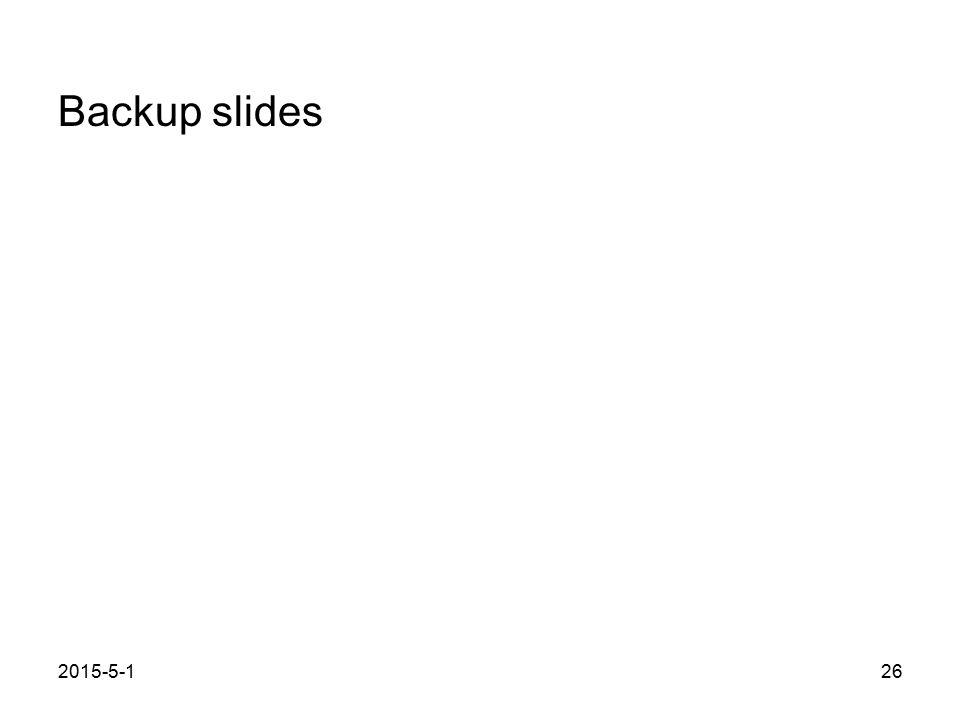 2015-5-126 Backup slides