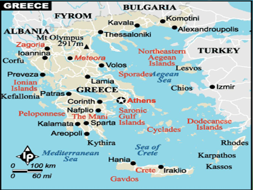 Greece and the Cold War After World War II, Western nations such as the U.S.