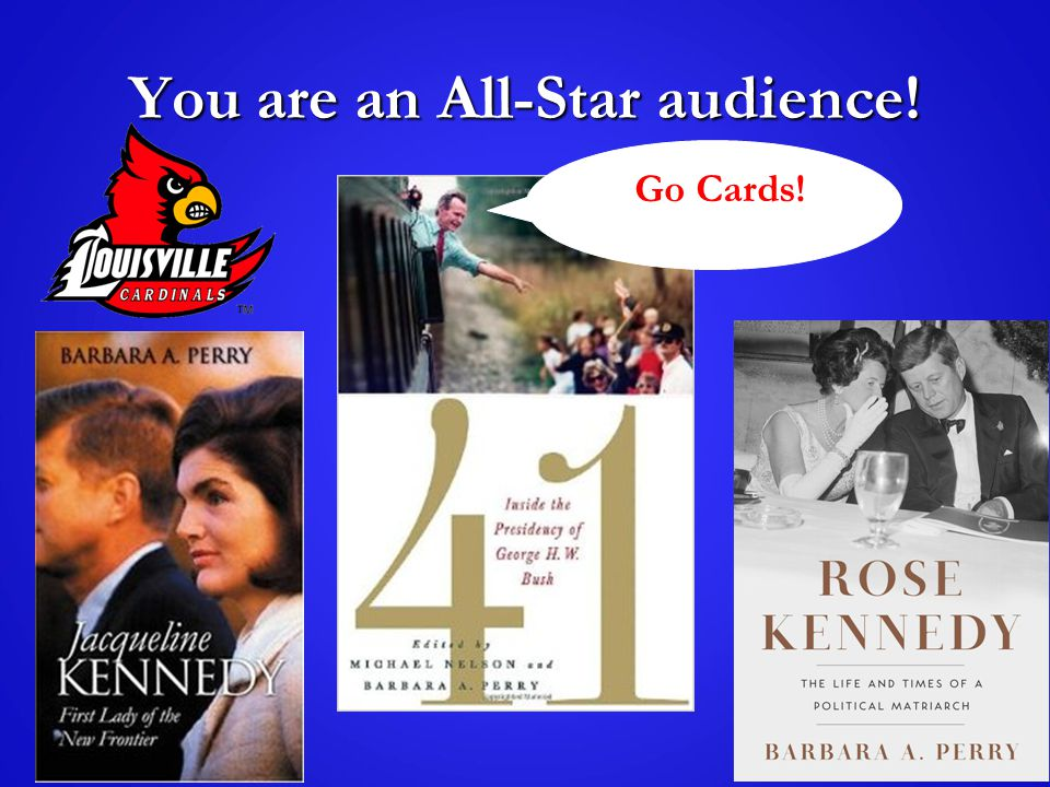 You are an All-Star audience! Go Cards! Go h