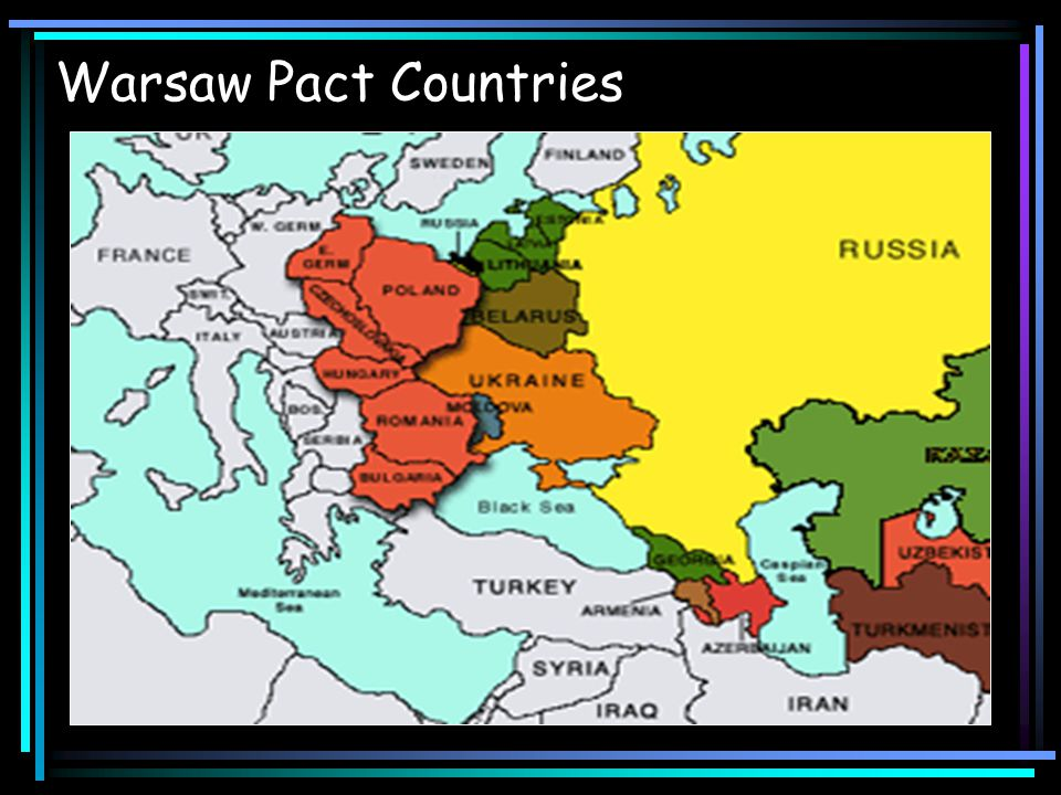 The Warsaw Pact U.S.
