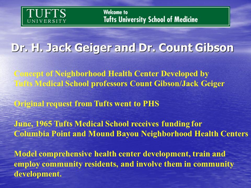 Dr. H. Jack Geiger and Dr.