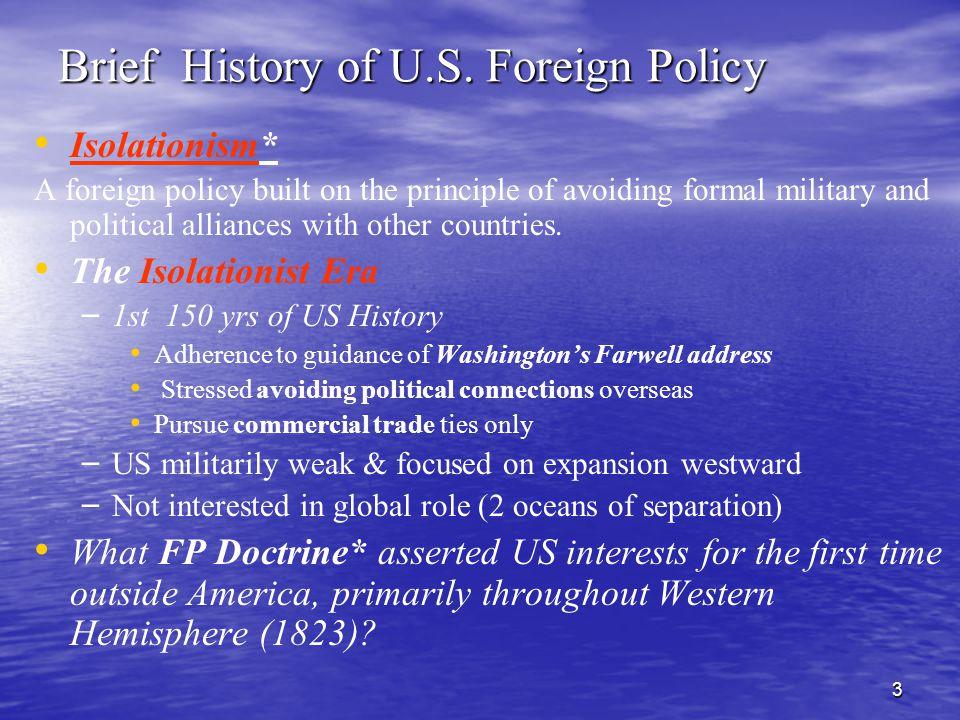 3 Brief History of U.S.