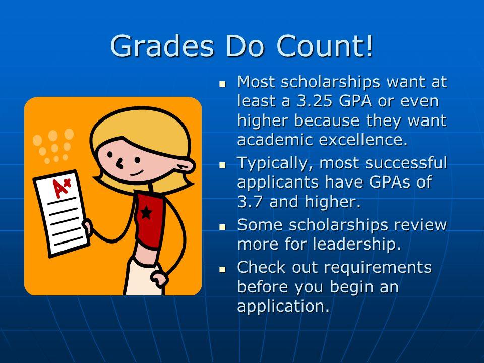 Grades Do Count.