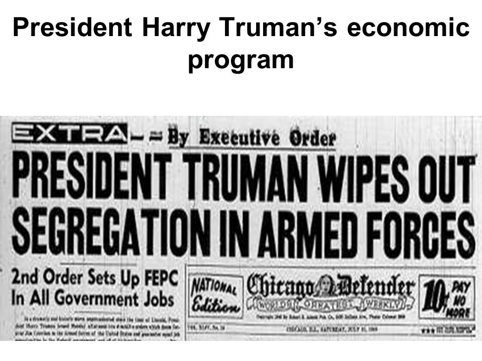 Truman was nominated for president in 1948.