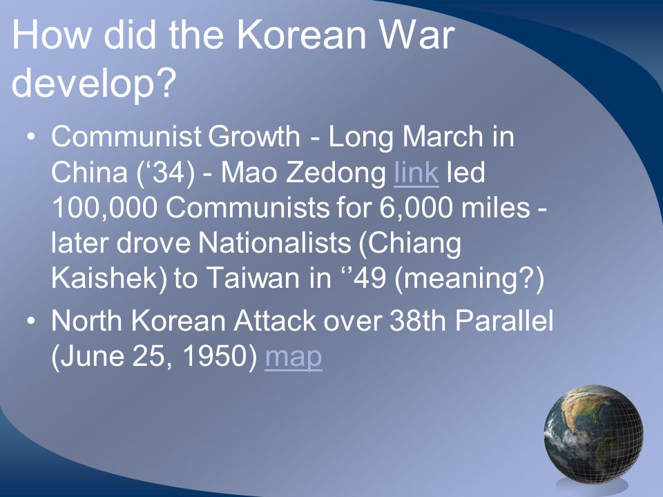 War in Korea.(Reading Text) What event turned the tide against the North Koreans.