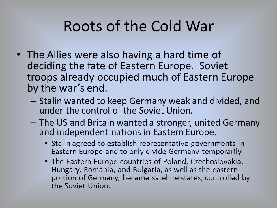 The Cold War Heats Up What is NATO.