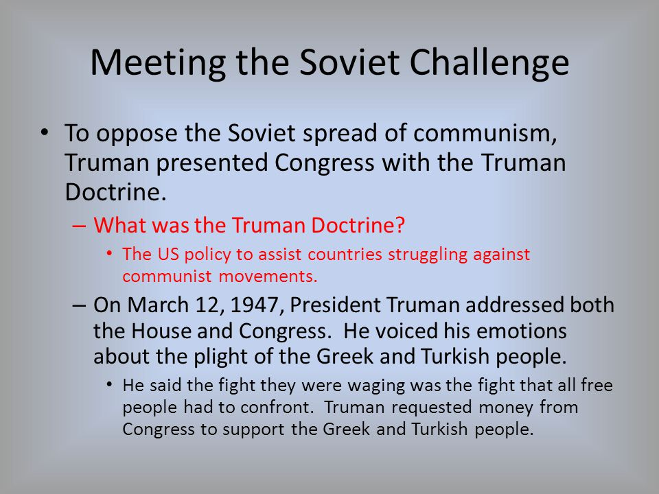 Containing Soviet Expansion Who was the American diplomat who stressed the need to contain communism within its current borders.