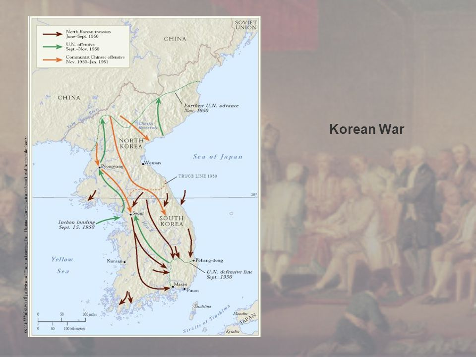 Korean War ©2004 Wadsworth, a division of Thomson Learning, Inc. Thomson Learning ™ is a trademark used herein under license.